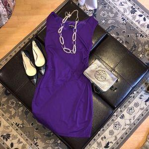 Express Purple Dress Size 6 👗💜